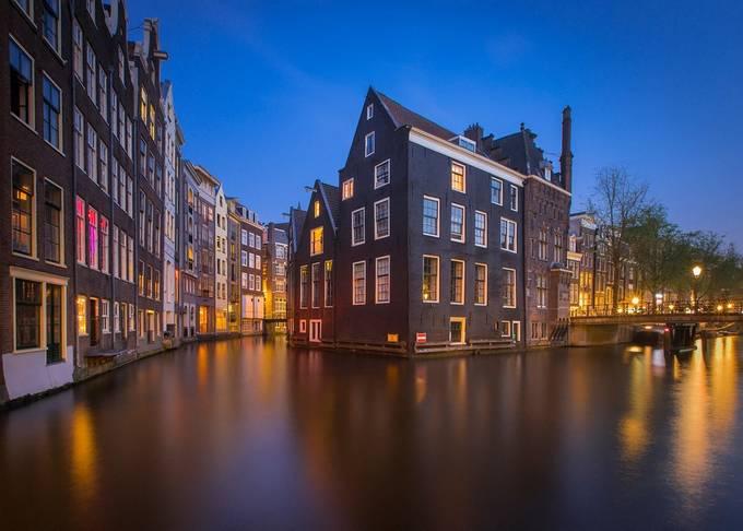 Amsterdam by evgenyvasenev - Bright City Lights Photo Contest