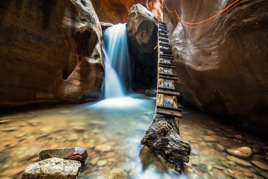 Canyon Waterfall #1