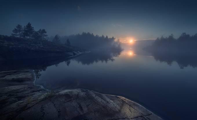 Вечернее безмолвие by Olga_Rudchenko - Night Wonders Photo Contest