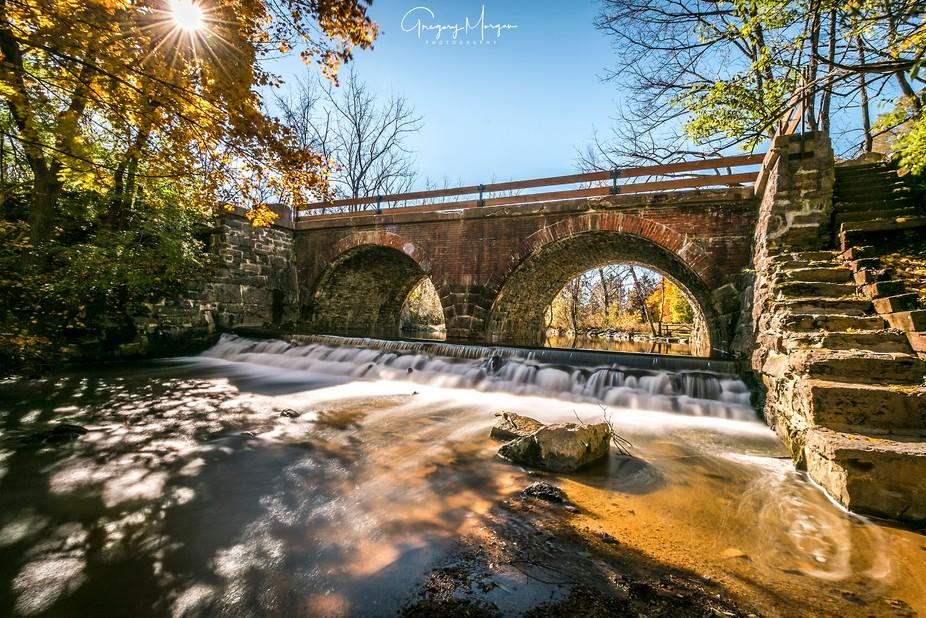 Lock Ridge Park arches