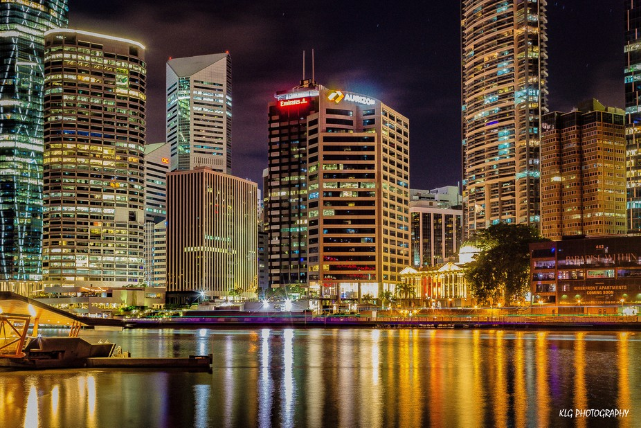 Brisbane City Nightscape