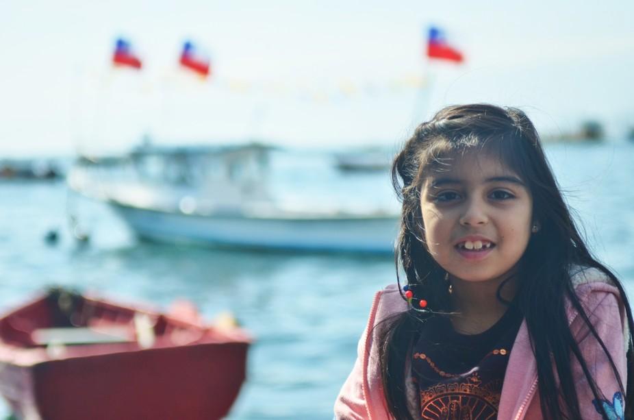 Paseo al mulle de Coloso- Antofagasta mi modelo hija Emi