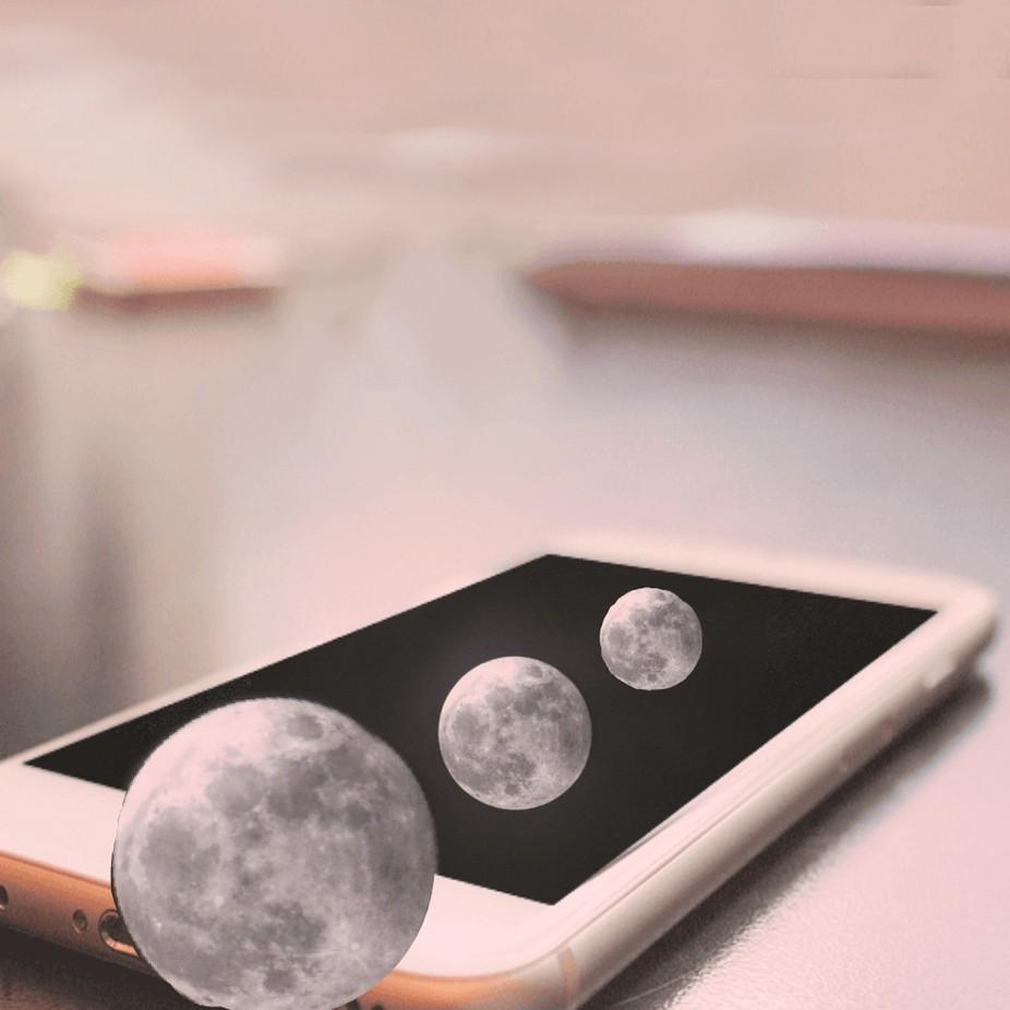 Der Mond hat die Umlaufbahn verlassen
