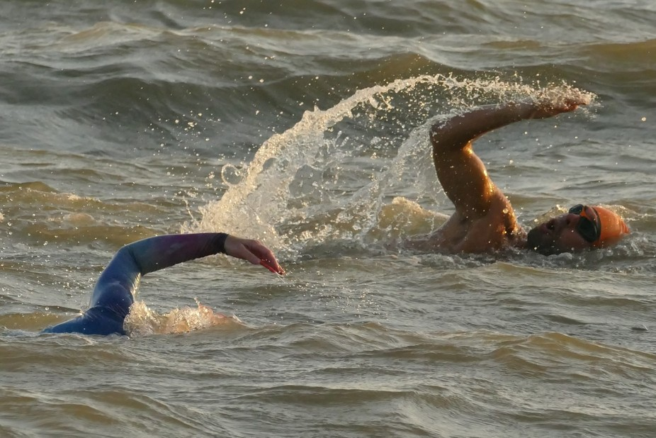 'Swimming against the tide'!