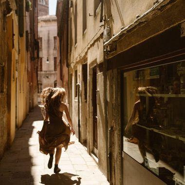 Running Through Venice