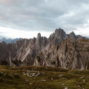 Hiking at Tre Cime