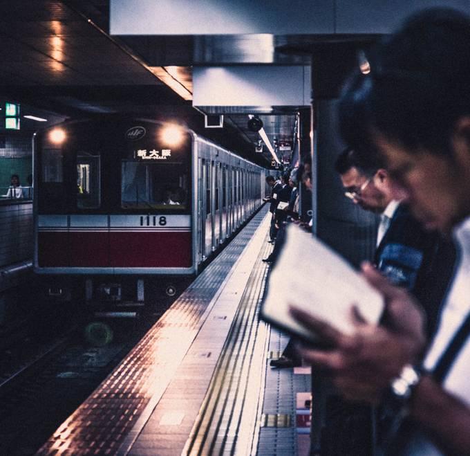 Osaka, Japan by jaeyongkim - Public Transport Hubs Photo Contest