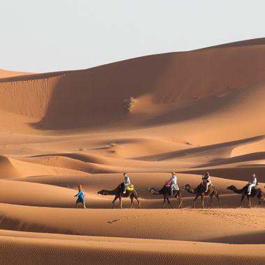 Desierto del Merzouga (Marruecos)