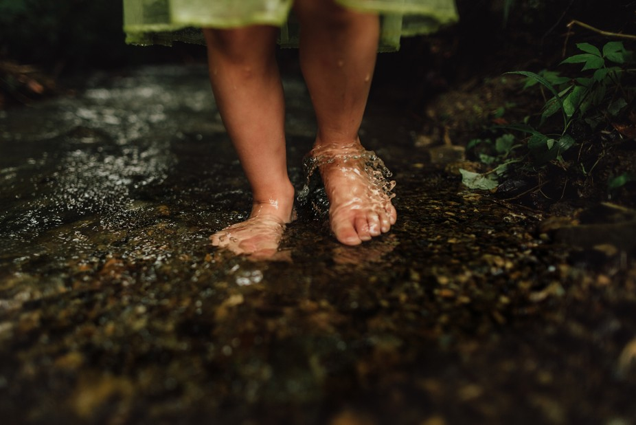Water Over Tiny Toes