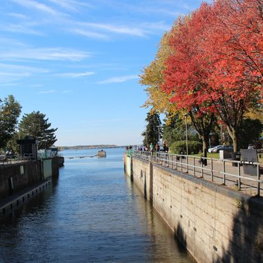 Fall Colors by the Water