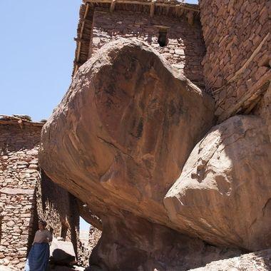Poblado del Alto Atlas (Marruecos)