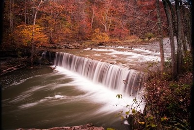 Anderson Falls in Indiana