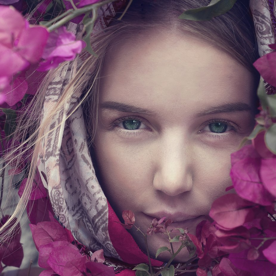 You cant depend on your eyes when your imagination is out of focus. Mark Twain by innafangel - Pink Photo Contest