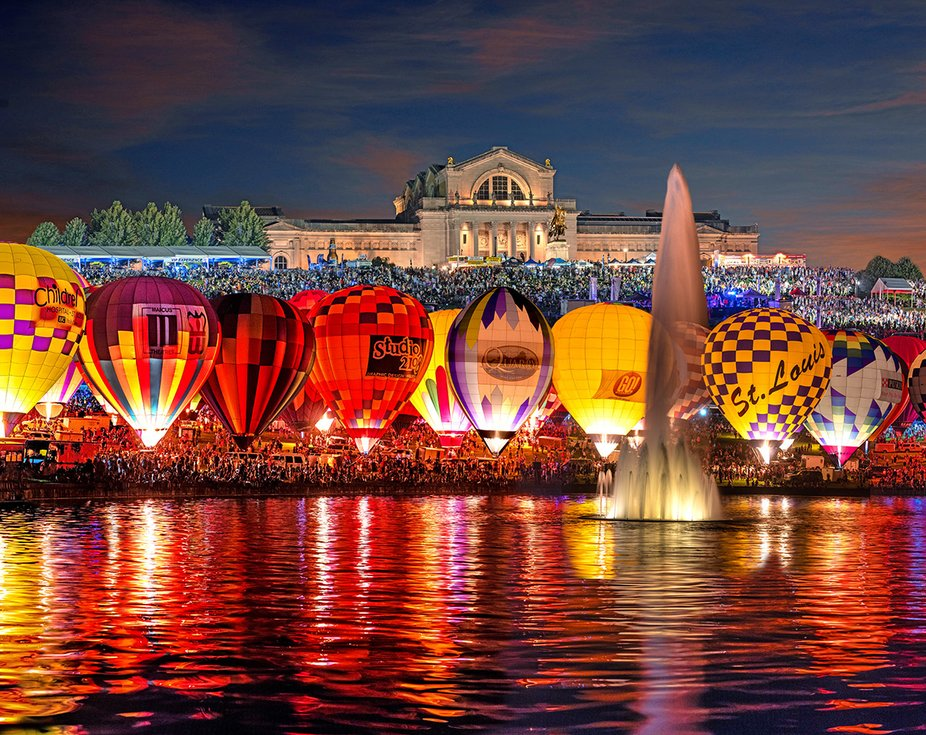 Balloon Glow St Louis