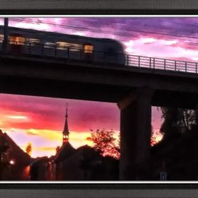 sunset in my beautiful city Tienen Image 1
