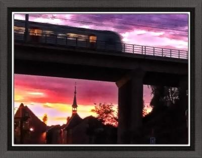 Sunset in Tienen 5