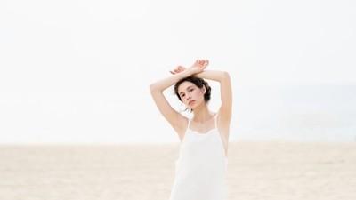 Jessica P :: White Beach Dress II