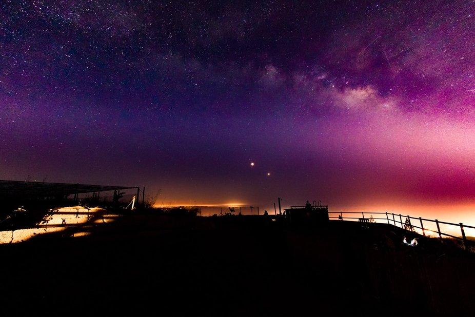 Milky Way over Tenerife