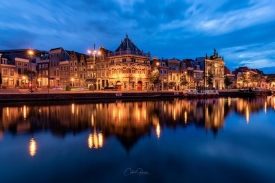Blue hour in Haarlem