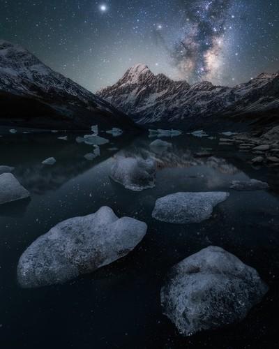Hooker Lake Milky Way