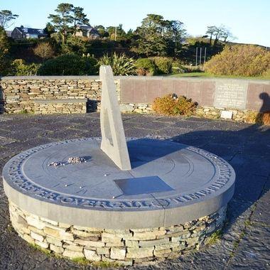 Memorial to the 1985 Air India plane crash off the south coast of Ireland