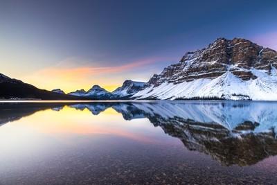 Bow Lake Sunrise