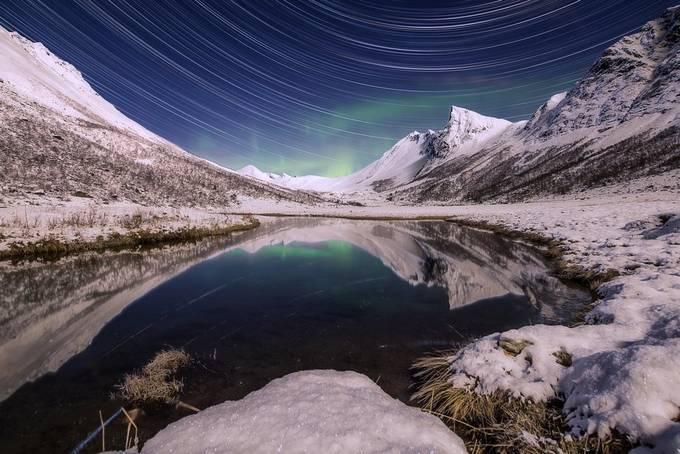 Rommedalen in Moonlight by iwangroot - Winter Long Exposures Photo Contest