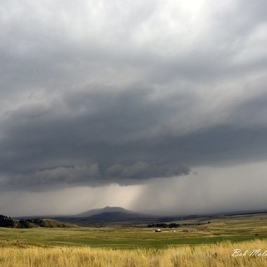 Storm over Crow Peak