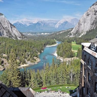 Fairmont Banff Springs - View From Our Hotel Floor