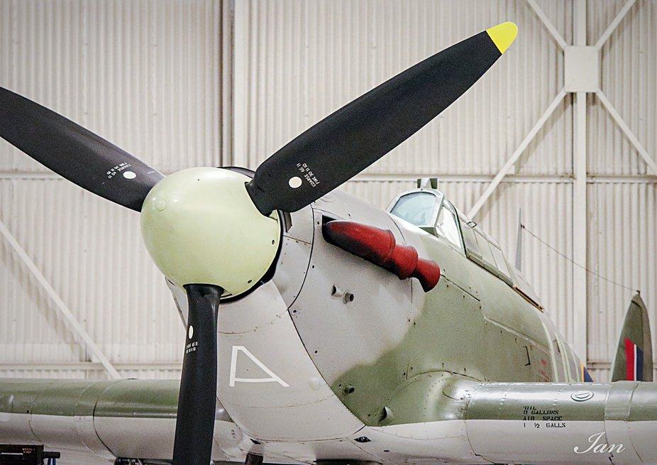 Spitfire Cockpit...