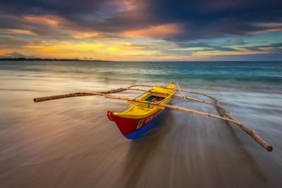Sunset at Lola Sayong