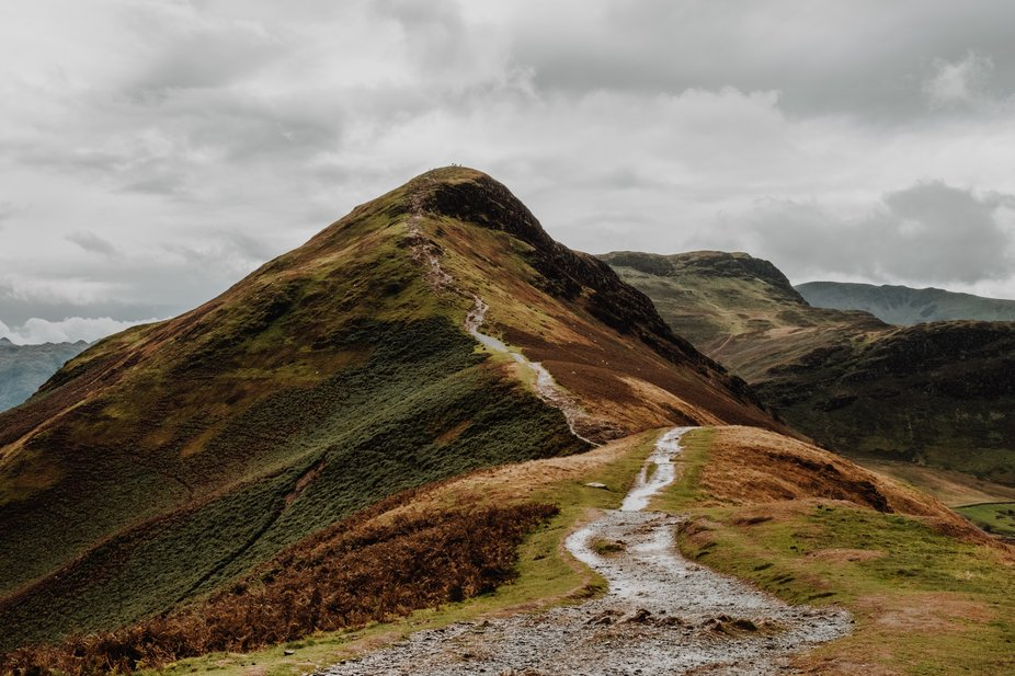 A view to the top of Catbells in the Lake District (U.K)