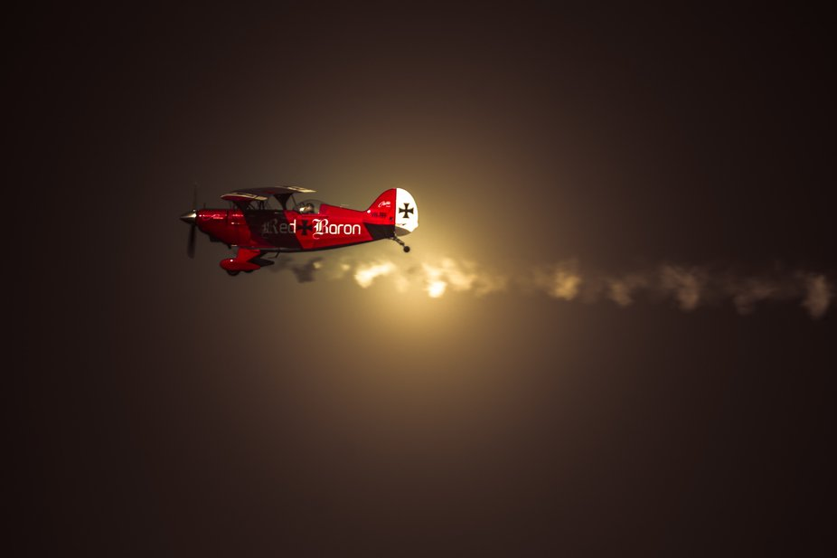 """Red Baron"". . I captured this image of the ""Red Baron"" last ..."