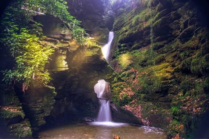 St Nectans Fall, Cornwall by tonyhackett - Creative Landscapes Photo Contest vol3