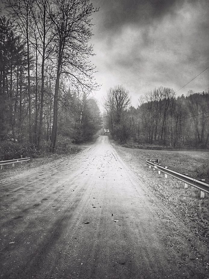 Heading down the road VT  by theblackwallblog - Straight Roads Photo Contest