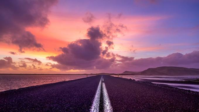 Straight Ahead by StephenBridger - Shades Of Purple Project
