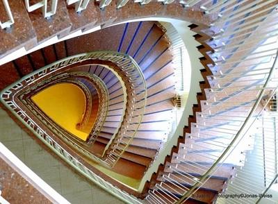 Stairwell in Nuremberg School