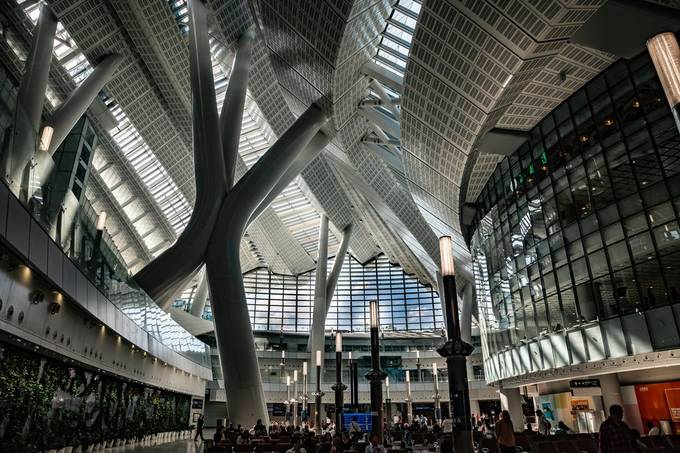 HK West Kowloon Station  by AMagaglio - Public Transport Hubs Photo Contest