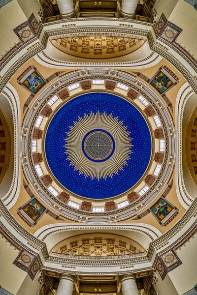 St. Charles Borromeo Church - Dome Detail