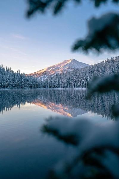Sunrise on Mt Bachelor