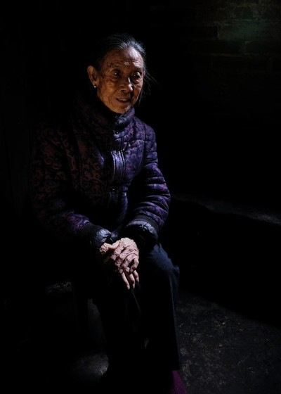 A 96 year old woman in China