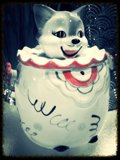 Circa 1950s Cookie Jar