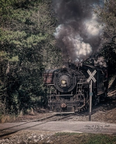 Another Edited Version of Excursion Train Near Trion, GA