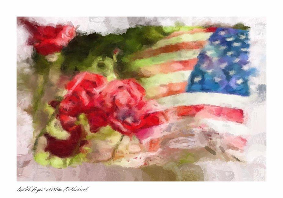 New work for Veterans Day.