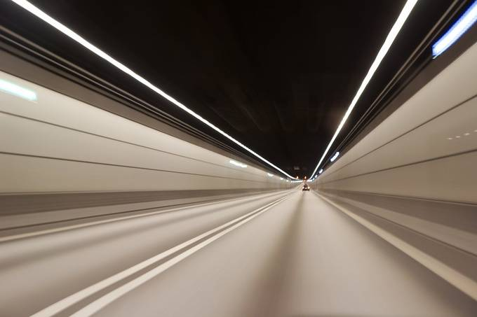 Tunnel by WGBN - Straight Roads Photo Contest