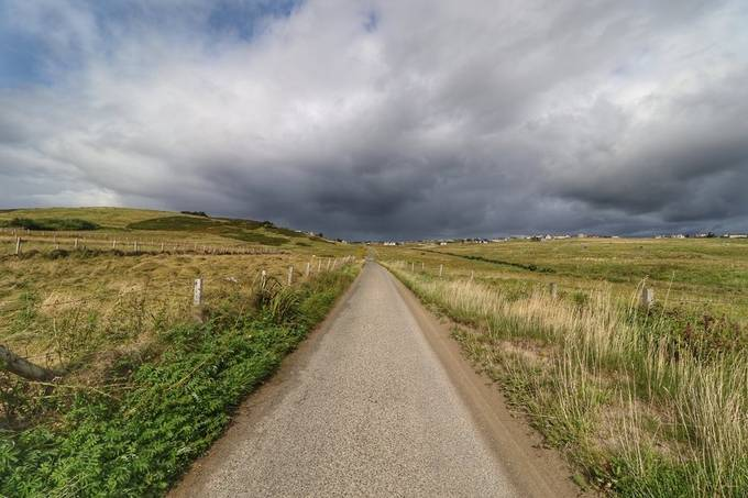 the long road by Wildswimmer - Straight Roads Photo Contest