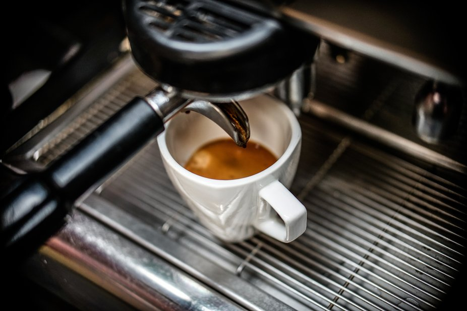Running an espresso