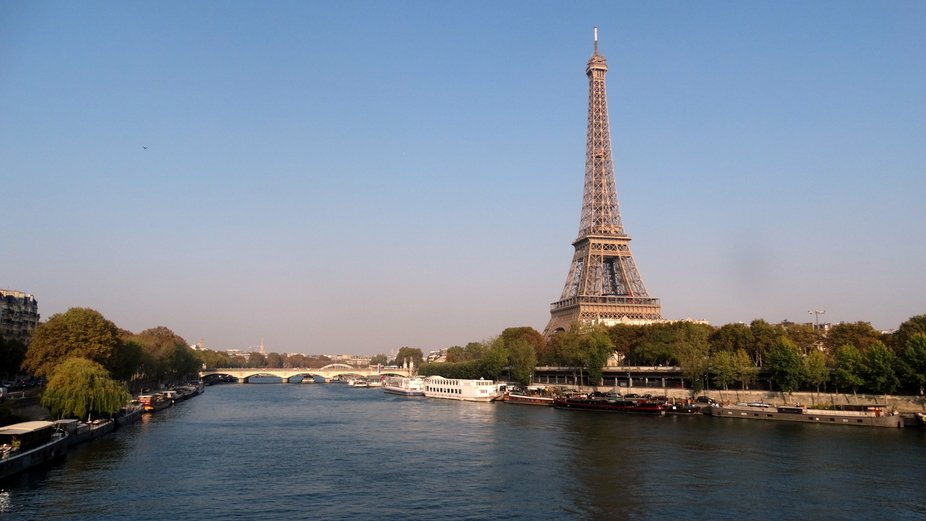 October Morning on the Seine