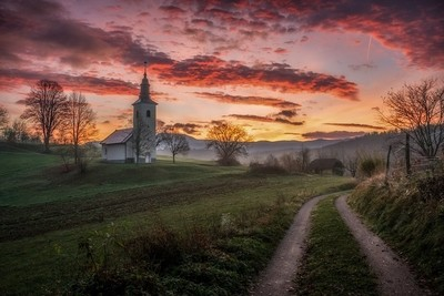 Morning in Dolenjska