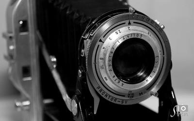 Oldtimer camera